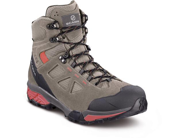 Scarpa Zg Lite GTX Shoes Dame taupe-red ibiscus